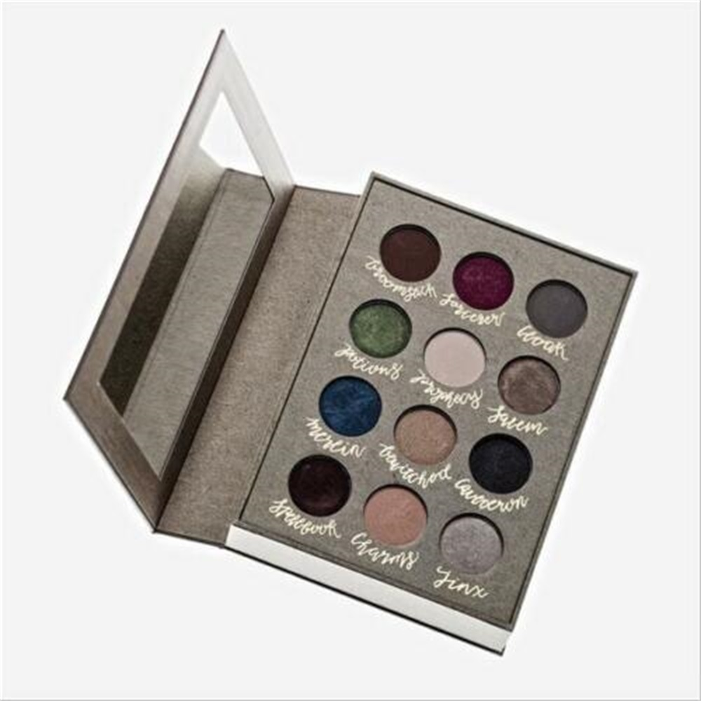 Makeup Eyeshadow Portable 12 Colors Metallic Shiny Smoky Eyes Eyeshadow Waterproof Glitter Liquid Eyeliner