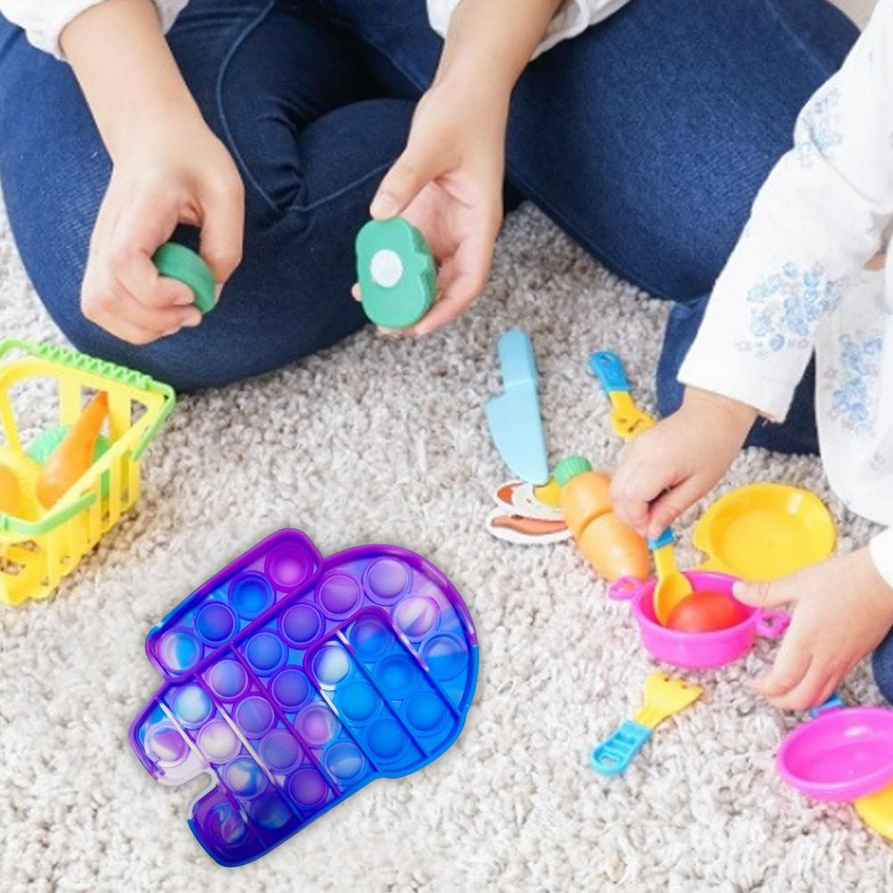 Toys Bubble-Sensory-Toy Autism Fidget-Stress Funny Popit Among Us-Push Needs Pops Reliever img4