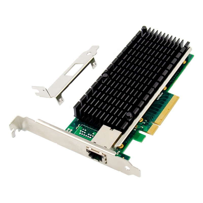 Placa de Rede Placa de Servidor x8 ao Único Pcie Porto Servidor Nic 10 Gigabit Ethernet X540 Chipset 10000 m 1000 Lan 10gbe Rj45