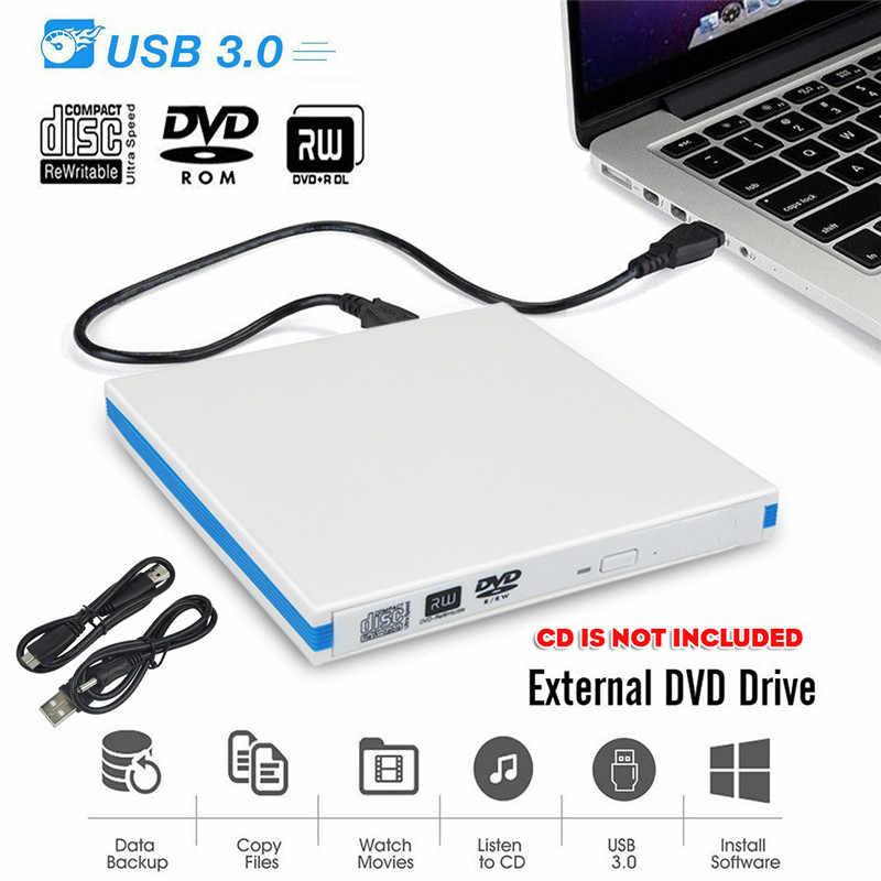 S SKYEE USB 3.0 سليم الخارجية DVD RW CD الكاتب الشعلة محرك قارئ لاعب محركات الأقراص الضوئية لأجهزة الكمبيوتر المحمول PC