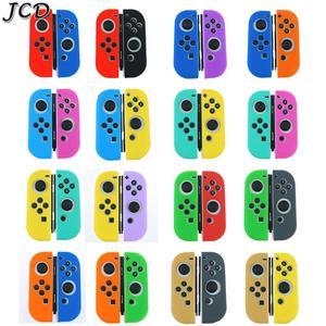 Image 1 - JCD 1 ensemble housse de coque peau en caoutchouc Silicone pour interrupteur Joy Con contrôleur pour Nintendo Switch NX NS poignée Joycon