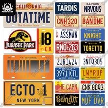Tin Sign Licenses-Plate-Decor Club Cave-Bar Putuo Decor Movie Pub Plaque Home-Wall-Decoration