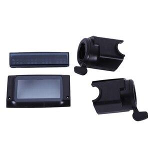 ЖК-дисплей Защитная Крышка корпуса с акселератором Тормозная ручка светодиодный светильник крышка для Kugoo S1 S2 S3 Электрический скутер