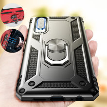 ZNP Luxury Magnetic Ring Phone Case For Huawei P30 Pro P30 Lite Shockproof Armor Stand Cover Case For Huawei P Smart Case Shell(China)