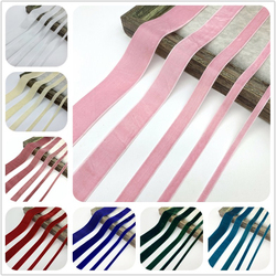 6mm 10mm 15mm 20mm 25mm 38mm Velvet Ribbon For Handmade Gift Bouquet Wrapping Supplies Home Party Decorations Christmas Ribbons