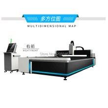 Сделано в Китае 3d волоконный лазер машина для резки металла