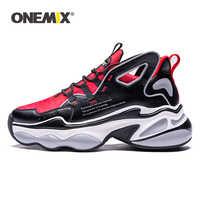ONEMIX Laufschuhe für Männer Hight Erhöhen 7 cm Air Kissen Mode Original Flügel Reflektierende Sport Schuhe Zu Fuß Turnschuhe Frauen