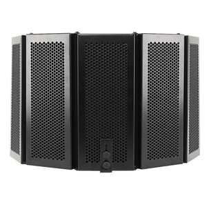 Image 4 - Protector de aislamiento acústico para micrófono plegable, Panel de espuma acústica para grabación en vivo, accesorios para micrófono