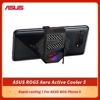 Original ASUS ROG 5 Gaming Mobile Phone Cooler ROG Phone 5 Accessories ASUS ROG5 Aero Active Cooler 5 with 3.5mm earphone Port