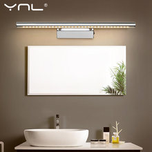 LED Wall Lamp White/Warm White Bathroom Mirror Light AC 220V 110V Nordic Led Wall Light Waterproof For Bedroom Living Room