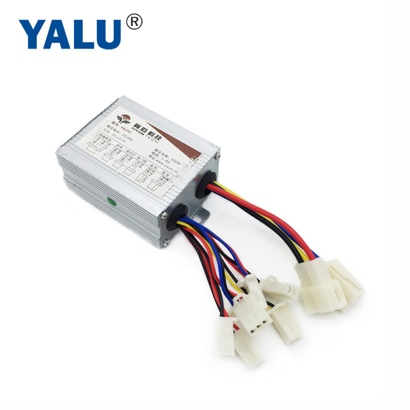 China Factory Direct Sale PMDC Motor Controller 24V 500W Brushed DC Motor Controller Match With Unite MY1018  MY1020 DC MOTOR