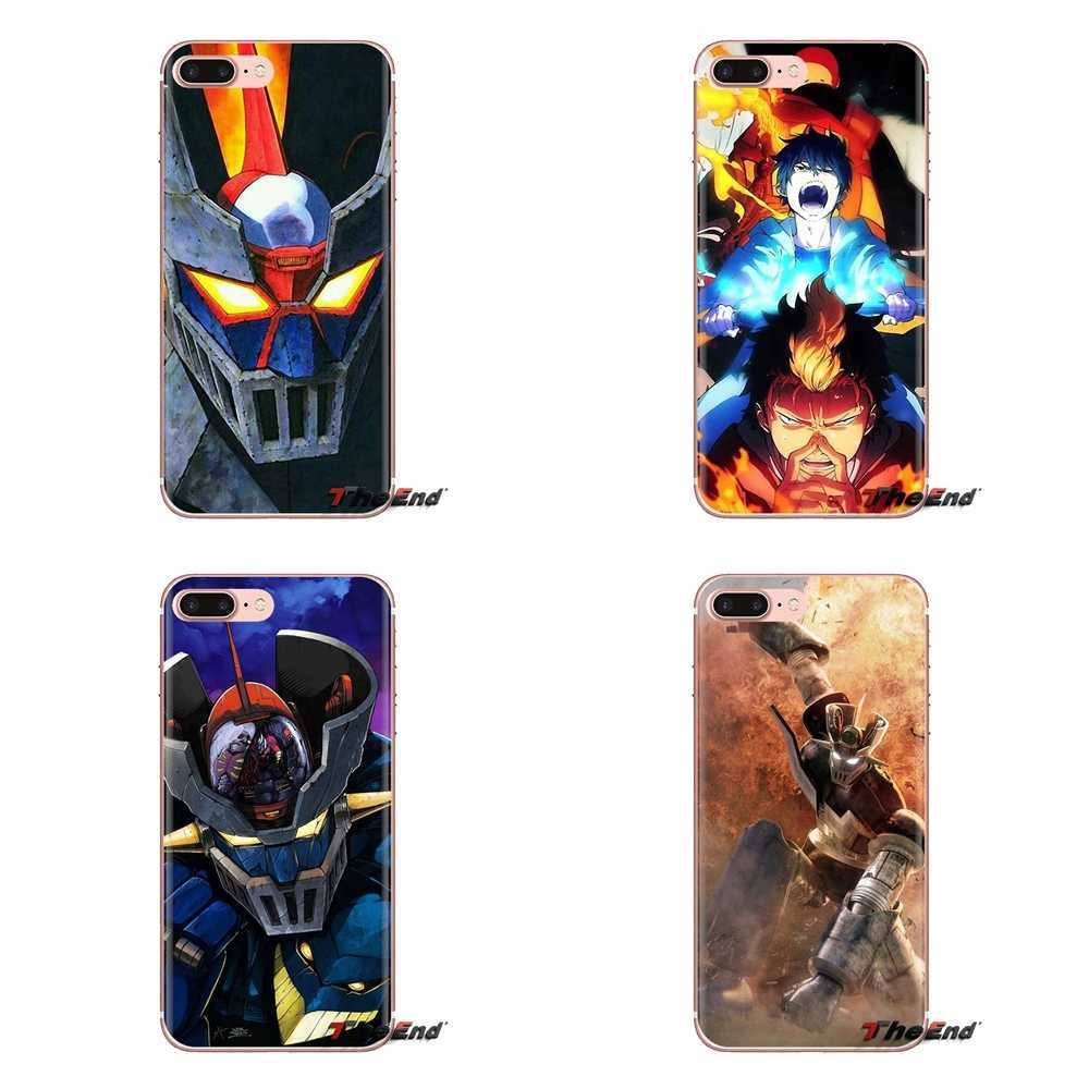Voor Oneplus 3T 5T 6T Nokia 2 3 5 6 8 9 230 3310 2.1 3.1 5.1 7 Plus 2017 2018 Bleach Blauw Exorcist Mazinger Z Silicone Skin Cover