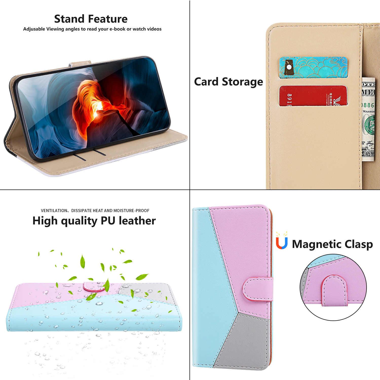 Piękne etui z klapką dla ajax Sony XZ3 Aksesuar Coque Iphone Shell dla Sony telefon E6 L1 XA2 XA1 5 L3 Z6 etui na portfel