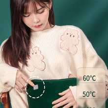 Electric Hand Warmer USB Heating Pad Portable Winter Warm Hot Water Bottle Thermos Rechargeable Hand Warmer  Power Bank Cute