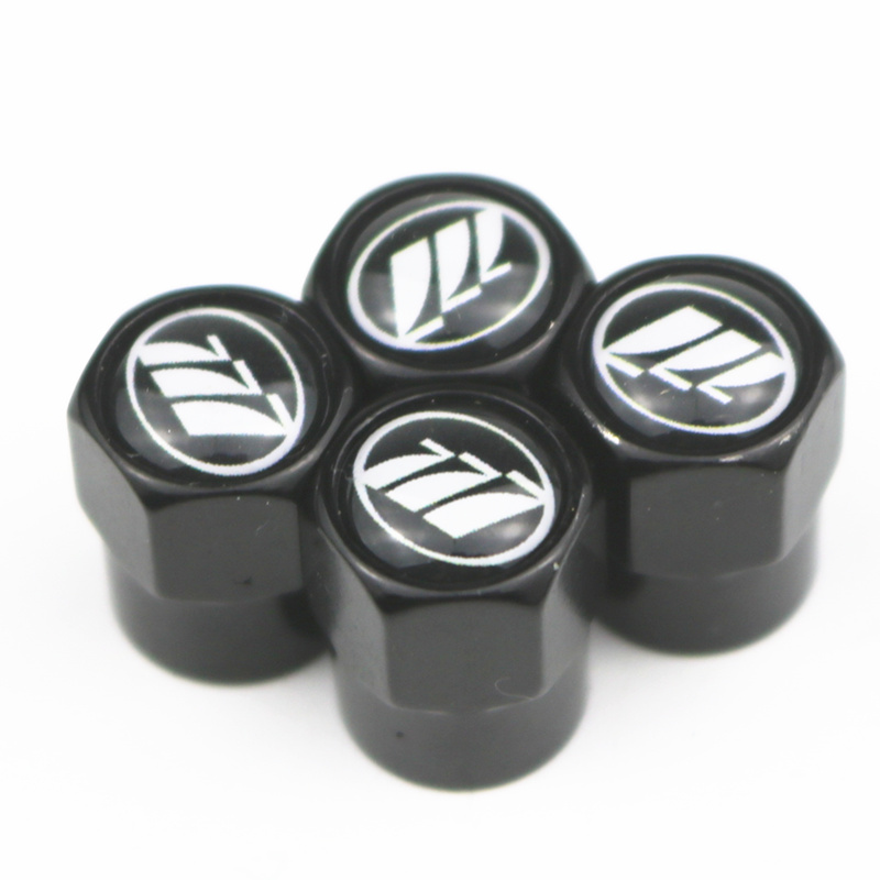 Car Valve Caps Styling Logo Case For Lifan Solano X60 X50 520 620 320 Emblems Accessories Badge 4pcs