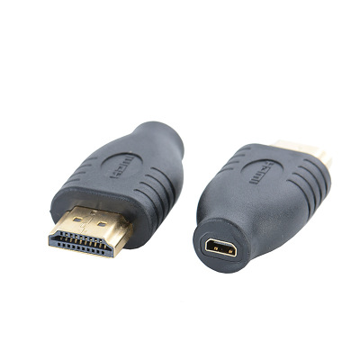 Professional HDMI Converter Black Standard HDMI Male Type A To Micro HDMI Type D Female Socket Adapter Mayitr