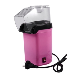 Vintage Retro Electric Popcorn Popper Machine Home Party Tool 220V Pink EU Plug
