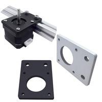 1PC NEMA 17 42 serie piastra di montaggio motore passo-passo staffa piastra fissa per stampante 3D parti CNC misura 2020 2040 profili
