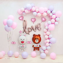 100pcs/Set Macaroon Balloon Arch Kit Rose Gold Confetti latex Ballon Wedding Birthday Party Garland Baby Shower Backdrop Decor