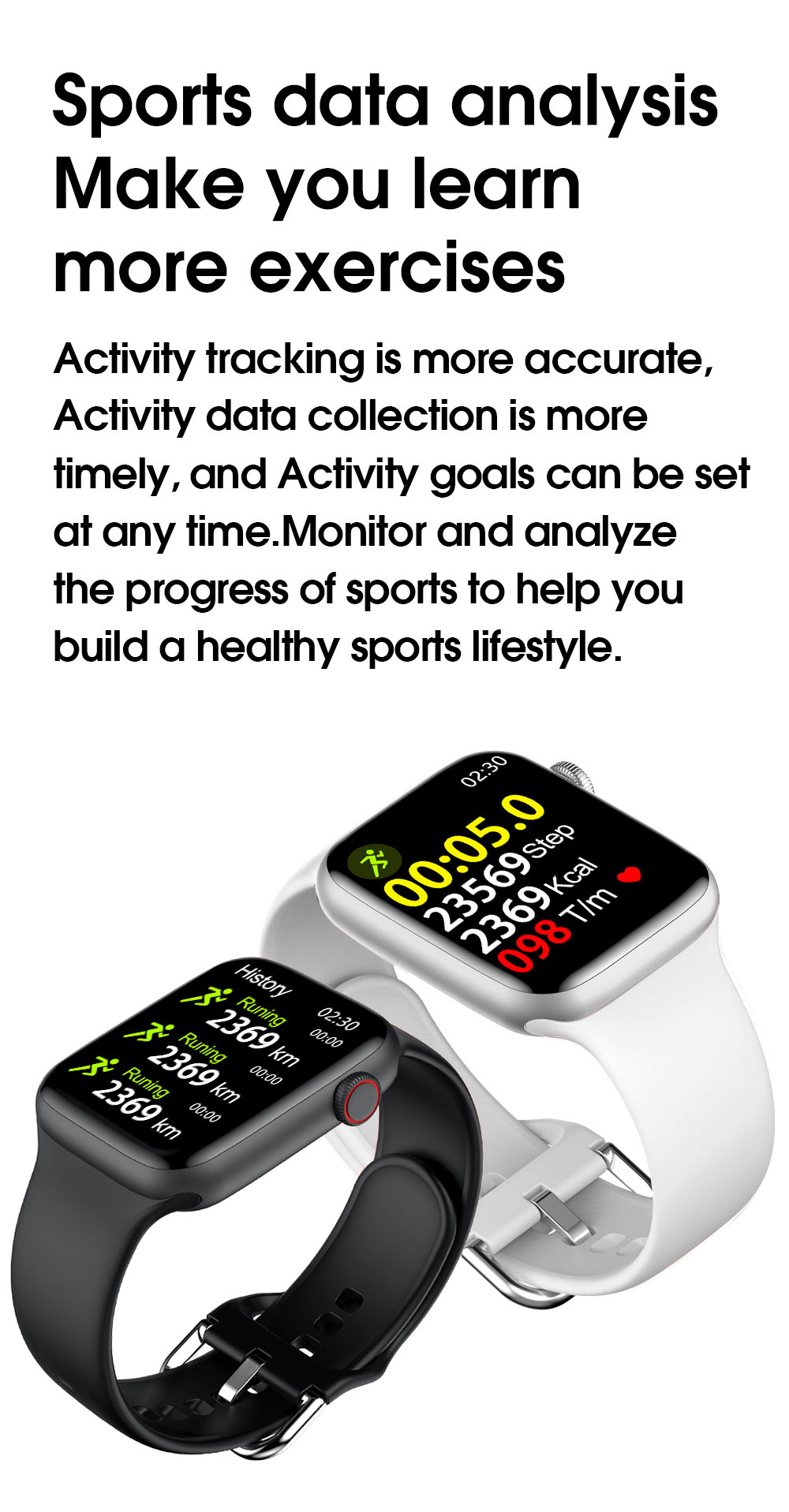 H4d711e5fc261436ea35a8fb3ef97c7ebY 2021 Original IWO W26 W46 Smart Watch Men/Women Heart Rate/Blood Pressure Monitor Clock Smartwatch For Android IOS PK HW22 HW16