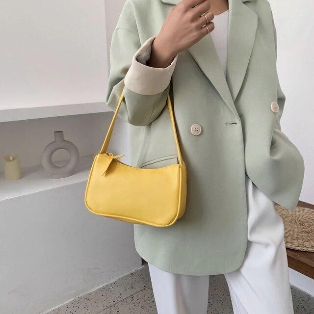 2021 nova alça bolsa feminina retro bolsa de couro do plutônio ombro totes axilas vintage superior lidar com saco feminino pequenos sacos sucancillary 4