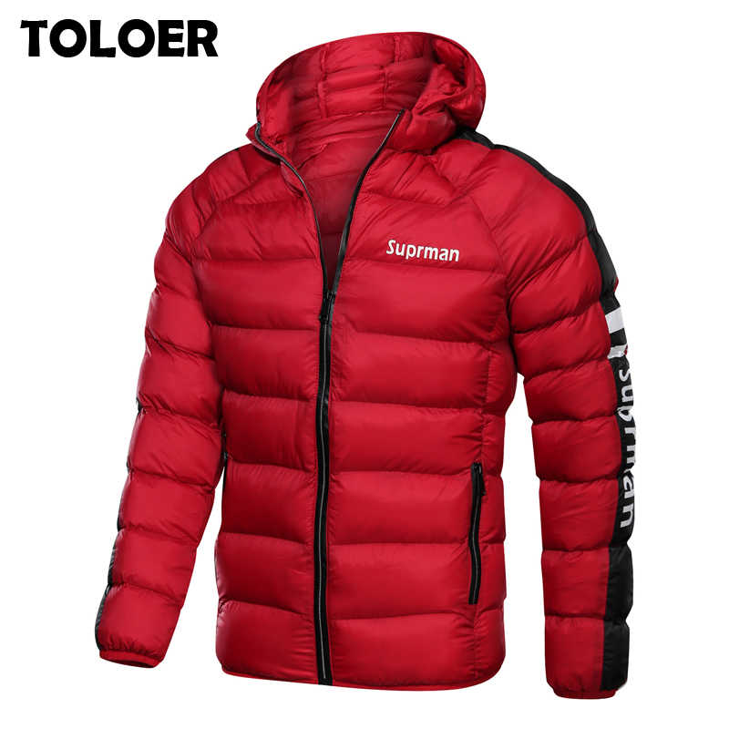 2019 New Men's Winter Jacket Coat Hooded Fashion Parka Men Thicken High Quality Coat Male Top Slim Fit Brand Man Warm Overcoats