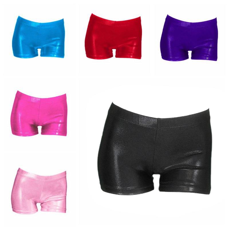 2019 Hot Sale Girls Gymnastics Suit Shorts High Quality Bright Color Body Suit Ballet Gymnastics Dance Practice Clothes Shorts