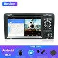 4/6 Core Android 10 автомобильный DVD GPS для Audi A3 2006-2011 с dvd-плеером Радио стерео аудио авто мультимедийный экран Навигация BT