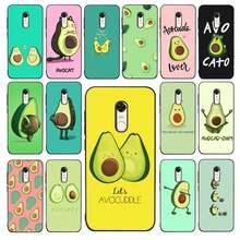 Yndfcnb abacate estética bonito moda padrão caso de telefone para redmi 4x 5 plus 5 6 7 8 9 a 6pro go k20 capa