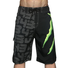 2021 New Size Men's Board Shorts Bermuda Surf Beach Pants Beach Swim Pants Gym Sweatpants Quick-dry Print Swimsuit Wide Leg Pant