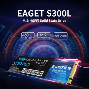 EAGET S300L SSD M.2(NGFF) Solid State Drive High Speed Compact Slient Shockproof SSD for PC Laptop computer up to 460MB/s ssd