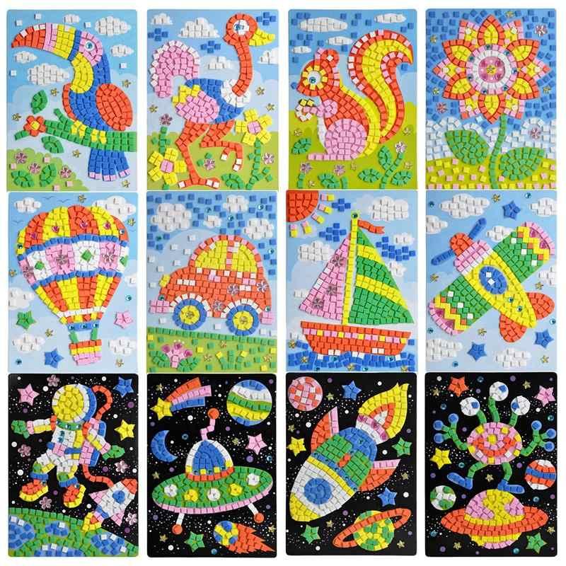 3d mosaicos adesivo criativo animais cogni o scrabble for Mosaico adesivo 3d