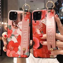 Girly Phone Case for Xiaomi Mi 8 9 A2 5X A3 Lite Redmi Note 8 7 6 5 5A K20 Pro 4X Wrist Strap Bracket Silicone Cover Casing стоимость