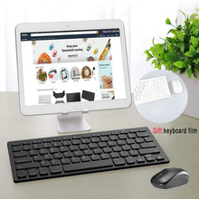 Slim Compact Bluetooth Keyboard Mini Portable Wireless Keyboard Compatible For iPad iPhone Tablet Smartphone Android iOS Phone