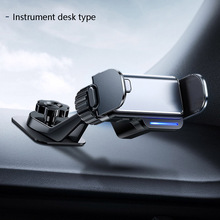 Car Phone Holder Stand Universal Electric Phone Holder Automatic Adjustment Air Vent Mount Holder With Four Level Power Indicato
