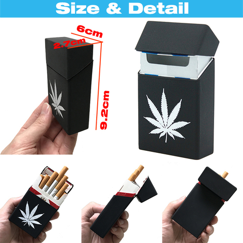 Soft Portable Silicone Cigarette Cases For 20 Cigarette Accessories Cigarette Box Gadgets For Men Gift Tabaco Case Tobacco Box Lahore