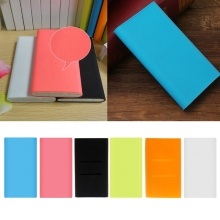 Silicone Sleeve Protector Skin Cover 13×7.5cm For Xiaomi Power Bank 2 10000mAh LX9A цена 2017