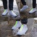 High Quality Rubber Waterproof Shoes Covers Rian Shoe Cover Men Women 2021 Fashion Reusable Covers Shoes Children