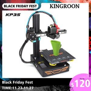KINGROON DIY 3D Printer KP3S Upgraded High precision 3D принтер 180*180*180mm Rigid Metal Frame Drukarka 3D Touch Screen Printer
