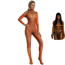 The Mummy Returns ANCK SU NAMUN Cosplay Costume Egypt Cleopatra Suit Egyptian Queen Jumpsuit Halloween For Women Kids