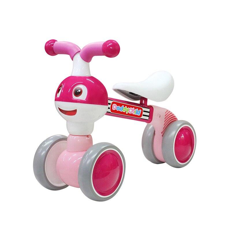 Daddy Children Balance Bike (для детей) маленькие муравьи смайлик скутер 1-6 детские ходунки, самокат