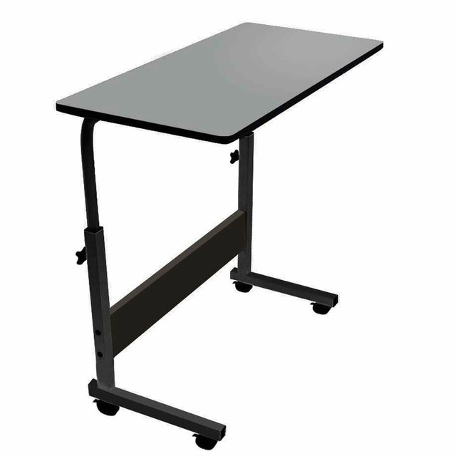 Adjustable Movable Laptop Stand Desk Portable Laptop Table Computer Desk Notebook Laptop Desk Can be Lifted Bed Side Table 6
