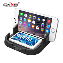 CARSUN  Mobile Car Phone Holder For Car Holder Dashboard   Car Bracket Phone Mount Non-Slip Stand Support Silicone Mobile Holder creative f1 racing car style adjustable support holder for mobile phones green