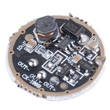 JYL1507 1.5-3V 3W 1-2 batterie sèche, 3 Modes, Boost Power Torch, Circuit imprimé, plaque d'entraînement, 20mm