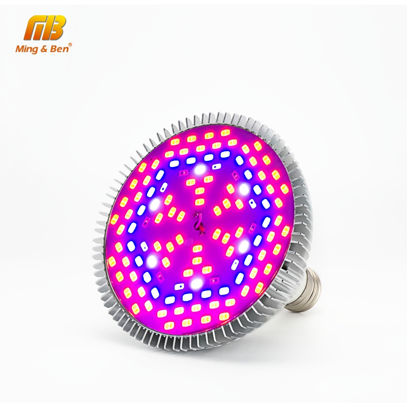 LED Bulb 18 28 <font><b>40</b></font> 78 <font><b>120</b></font> Leds AC85-265V Full Spectrum Growth Bulb For Plant Greenhouse Indoor Plant Grow LED Grow Spotlight image