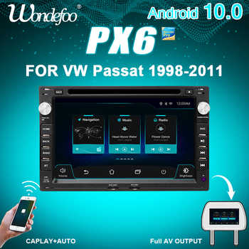 PX6 2 DIN Android 10 Car RADIO For VW PASSAT B5 B4 JETTA BORA GOLF 4 POLO MK5/4/3 T5 for Peugeot 307 car stereo audio navigation - DISCOUNT ITEM  40 OFF Automobiles & Motorcycles