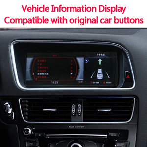 Image 5 - Car radio Android multimedia player for Audi  A6L 2010 2011 2012 10.25inch touch screen GPS Carplay