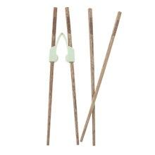 2 пары учебные палочки для еды помощник/кроссовки Дети обучающий инструмент кухонная посуда набор, предназначен для взрослых, пожилых или инвалидов