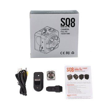 SQ8 Outdoor Sports Aerial Recorder Camera Wide-Angle Shooting Infrared Night Vision Stable Performance image