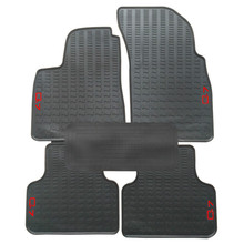Special No Odor Carpets Waterproof Rubber Car Floor Mats for 2006-2019 Year Audi Q7 for audi q7 2015 2019 rubber floor mats into saloon 5 pcs set seintex 86854